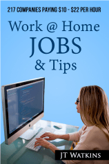 work at home jobs lead magnet